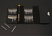 Набор прецизионных отверток для ремонта телефонов, электроники, 26 в 1 в удобном чехле