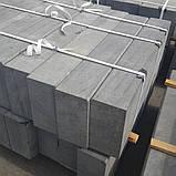 Бортовой камень Габбро 100х30х15 см, фото 3