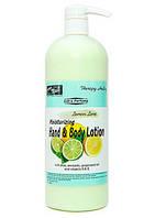 Крем для ног и тела (Лайм и лимон) 1л