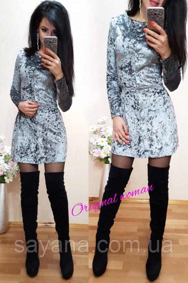 Женское стильное платье в расцветках. НВ-48-0117