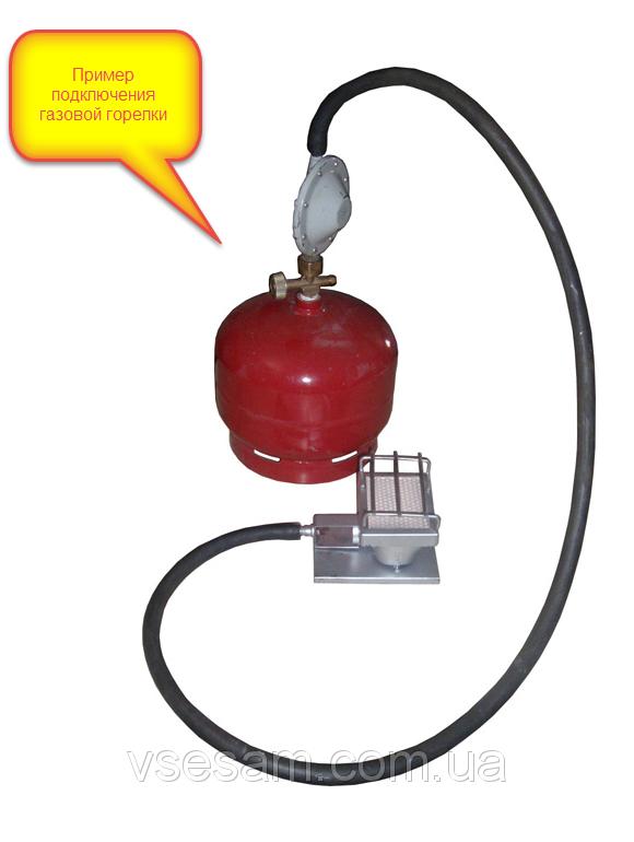 Пример подключения газовой горелки