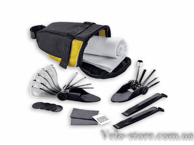 Подседельная сумка Crivit с набором инструментов и ремкомплектом для шин