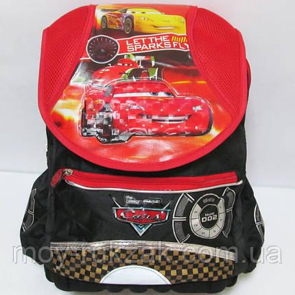 """Рюкзак школьный """"Cars"""", пластиковый поддон, арт. 520242, фото 2"""