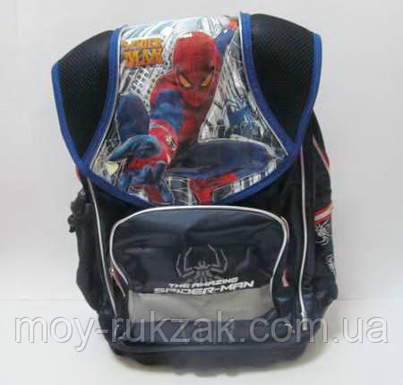 """Рюкзак школьный """"Spider Man"""", металлический каркас, пластиковый поддон, арт. 520246, фото 2"""