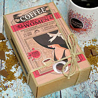 Кофейный набор For Beautiful Woman Для Прекрасной Женщины  50 грамм кофе в подарочной  упаковке