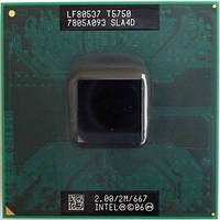 Процессор Intel Core 2 Duo T5750 (2M Cache, 2.00 GHz, 667 MHz FSB)