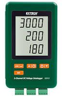 Логгер напряжения постоянного тока Extech SD910 3-канальный