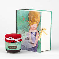 Подарочная книга Джем Эйр от Гапчинской Банка варенья в дизайнерской подарочной упаковке+коробка