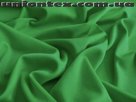 Французский трикотаж зеленый, фото 2