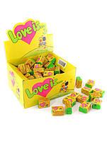 Блок жвачек Love is...ананасово-кокосовая 100 шт