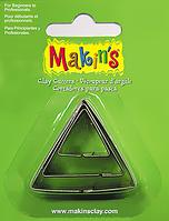 Каттер Makin's металлический для работы с полимерной глиной, Треугольники, 3шт.