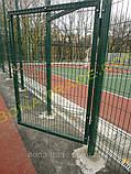 Забор из оцинкованной проволоки для теннисного корта, фото 3