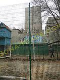 Забор из оцинкованной проволоки для теннисного корта, фото 5