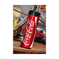 Алюминиевая фляга Elite Coca-Cola Red Classic, 750 ml