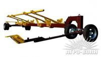 Тележка для транспортировки жаток «CARELLO-2» (двуосная) (Бердянск)