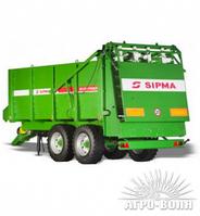 Розкидач органічних добрив та посліду SIPMA RO TORNADO 1200