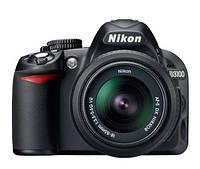 Цифровая зеркальная фотокамера Nikon D3100 Kit 18-55 VR + 55-200VR +SLR Bag + SD4Gb