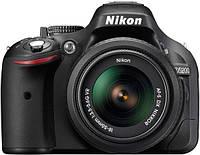 Цифровая зеркальная фотокамера Nikon D5200 kit 18-55VR + 55-300VR + SLR Bag + SD8Gb