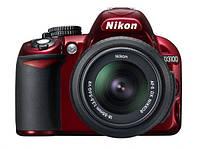 Цифровая зеркальная фотокамера Nikon D3100 Kit (18-55 VR) Red