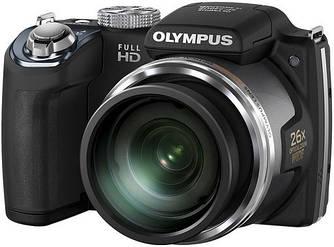 Цифровая фотокамера Olympus SP-720UZ Black