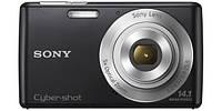 Цифровая фотокамера Sony CyberShot DSC-W620 Black