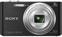 Цифровая фотокамера Sony Cybershot DSC-W730 Black