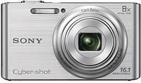 Цифровая фотокамера Sony Cybershot DSC-W730 Silver