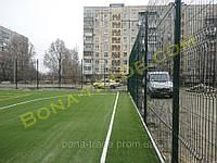 Оцинкованные заборные сетки для футбольного поля