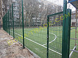 Оцинкованные заборные сетки для футбольного поля, фото 2