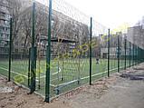 Оцинкованные заборные сетки для футбольного поля, фото 3