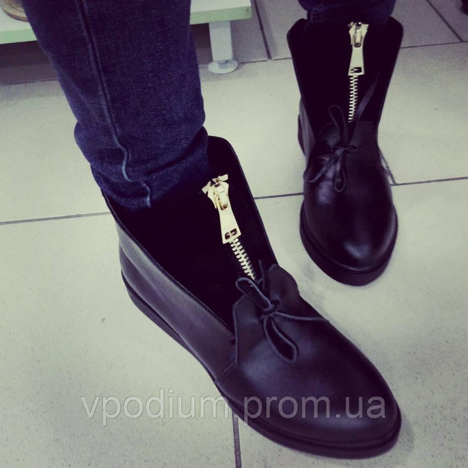 Ботиночки, женские кожаные туфли, ботинки, полусапоги весна, деми обувь  женская, весенняя 386b3e21191