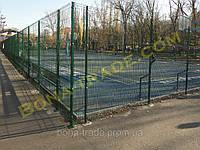 Прочная заборная сетка для баскетбольной площадки
