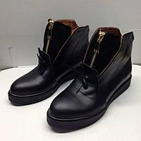 Ботиночки на весну, женские кожаные туфли, ботинки, полусапоги весна, деми обувь женская, весенняя обувь