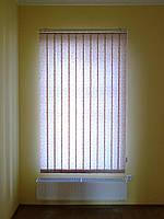 Красивые вертикальные жалюзи на пластиковые окна ткань  Мозаика , фото 1