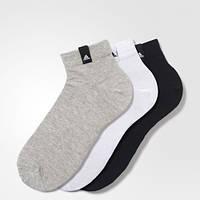 Три пары носков Performance Адидас женские и мужские размеры AA2485 - 2017