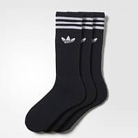 Черные носки Адидас Originals три пары S21490