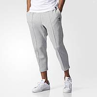 Укороченные брюки мужские адидас Instinct Cropped Pintuck BK0555 серые - 2017