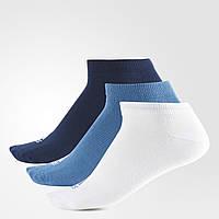 Три пары носков Adidas Performance No-Show мужские, женские и детские размеры S99895 - 2017