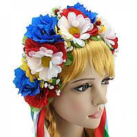 Украинский венок Злата с ромашками, фото 1