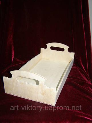 Хлебница - разнос, поднос (36 х 18,5 см), фото 2