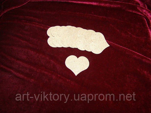Сердечко ДВП набор, фото 2