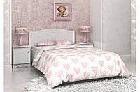 Красивая и надежная кровать «Мишка» ТМ «Вальтер - С» Белый
