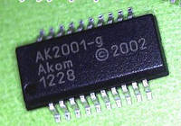 Микросхема AK2001 для ноутбука