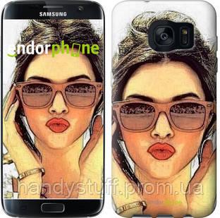 "Чехол на Samsung Galaxy S7 Edge G935F Девушка_арт ""3005c-257"""
