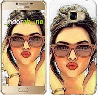 "Чехол на Samsung Galaxy C5 C5000 Девушка_арт ""3005u-301"""