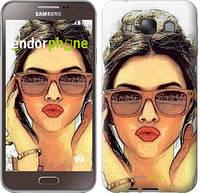 """Чехол на Samsung Galaxy E7 E700H Девушка_арт """"3005u-139"""""""