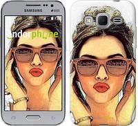 "Чехол на Samsung Galaxy Core Prime VE G361H Девушка_арт ""3005c-211"""