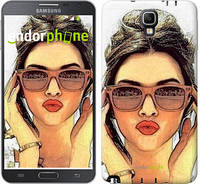"Чехол на Samsung Galaxy Note 3 Neo N7505 Девушка_арт ""3005u-136"""