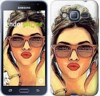 "Чехол на Samsung Galaxy J3 Duos (2016) J320H Девушка_арт ""3005c-265"""
