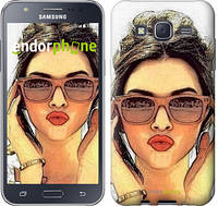"Чехол на Samsung Galaxy J5 J500H Девушка_арт ""3005c-100"""